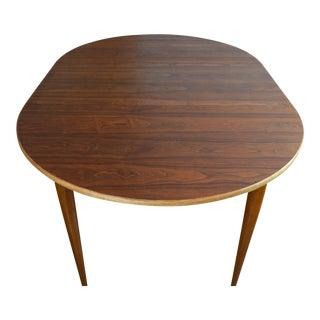 Gorgeous Mid Century Walnut Dining Table by Lane Co.