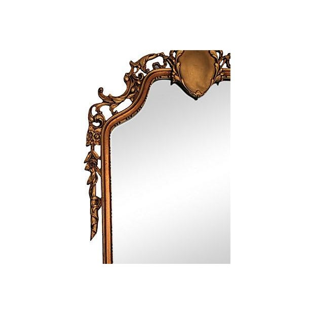 Louis XV Style Carved Giltwood Mirror - Image 4 of 6