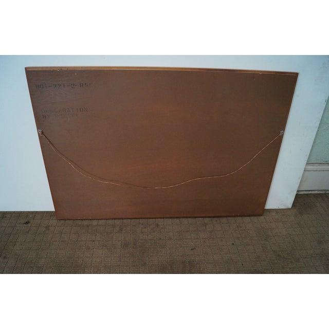 Drexel Declaration Vintage Walnut Wall Mirror - Image 5 of 10