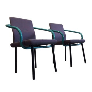 Ettore Sottsass Mandarin Chairs for Knoll - A Pair