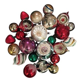 Vintage Ornaments - Set of 22
