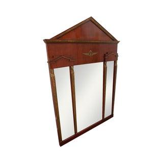 John Widdicomb Russian Neoclassical Gilt Mirror