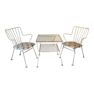 Mid Century Outdoor Furniture - Set of 3
