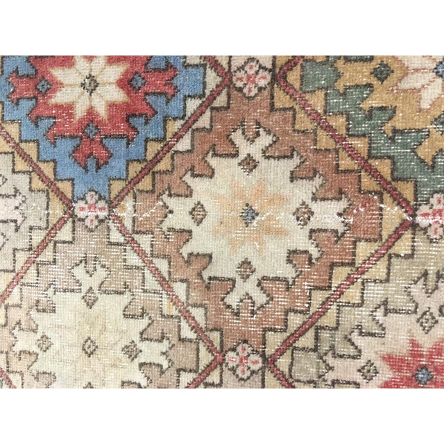 "Bellwether Rugs Vintage Turkish Zeki Muren Rug - 6'6""x10' - Image 6 of 9"