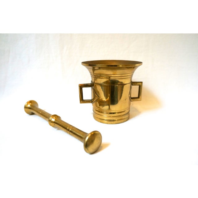 Brass Mortar & Pestle - Image 2 of 5
