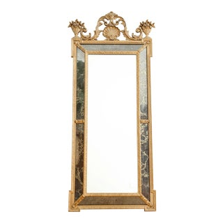 Vintage Oversize Gold Gilt Mirror