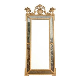 Vintage Oversize Louis XV Style Gold Gilt Mirror