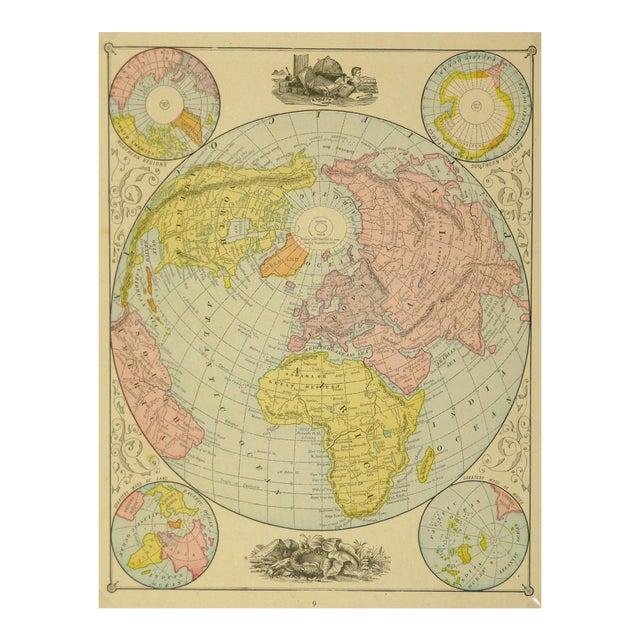 World Map, 1890 - Image 1 of 3