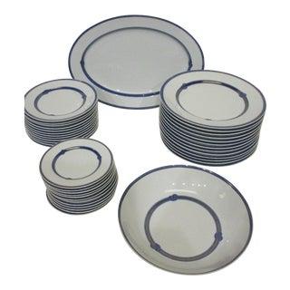 Christofle Porcelaine Dinner Set - Service for 12