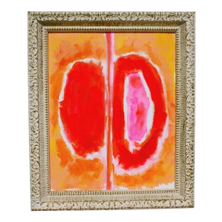 """Passionate Heart"" Original Abstract Expressionist Painting"