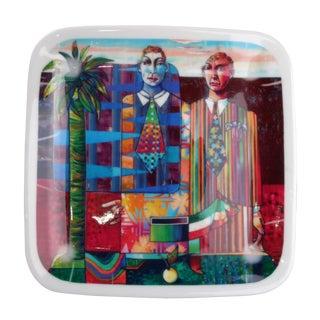 "Luigi Rincicotti Zodiac Art Plate ""Gemini"""
