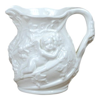 Minton White Bone China Pitcher
