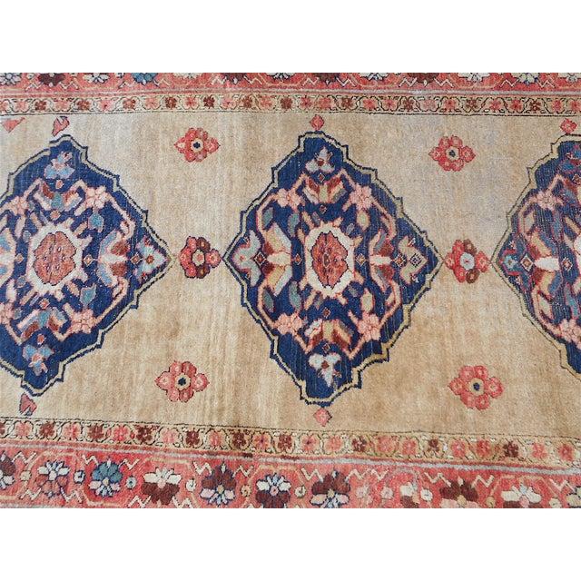 Antique Persian Kurdish Oriental Rug - 4′ × 7′5″ - Image 9 of 9