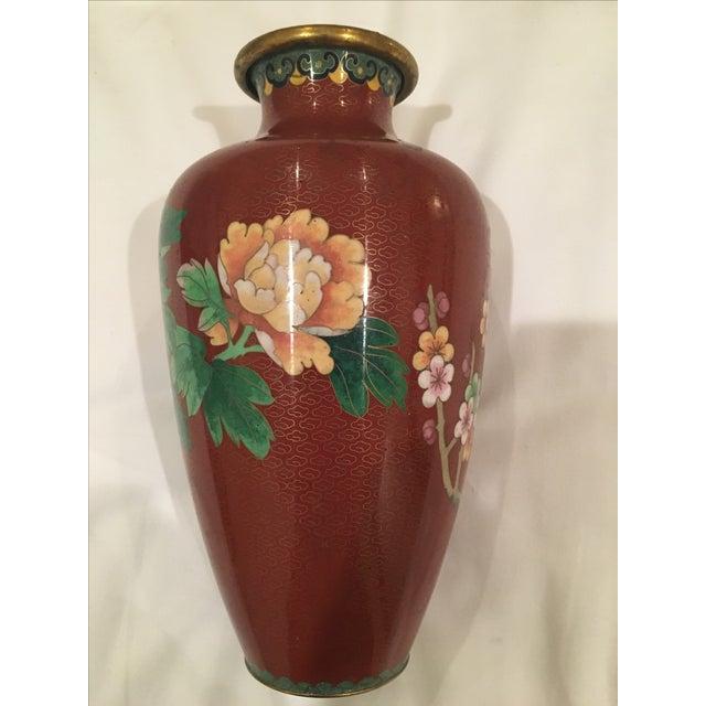 Cloisonné Vase - Image 8 of 9