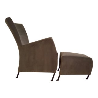 Montis Windy Easy Chair & Ottoman