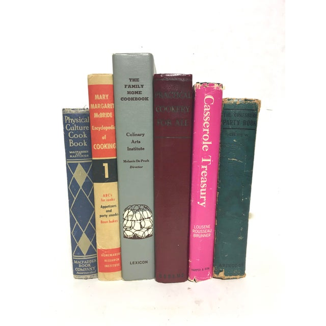 Image of Vintage Entertaining Cookbooks - Set of 6