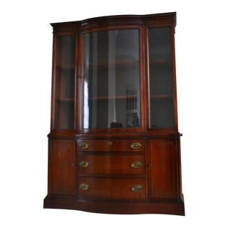 Early 1940s Drexel Victorian Style China Cabinet