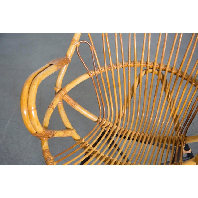 Rohe Noordwolde Bamboo Hoop Chair With Arms - Image 9 of 10