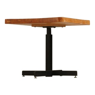 Charlotte Perriand Height-Adjustable First Edition Coffee/Dining Table, France