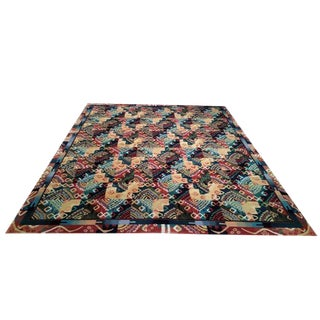 8' X 10' Ft. Modern Handmade Patterned Rug - Size Cat. 8x10