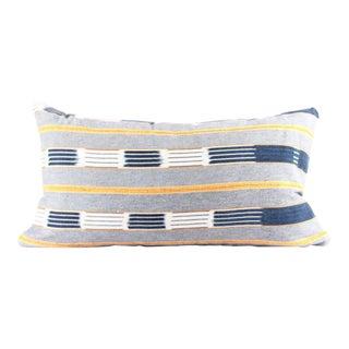 Gentle African Baule Mudcloth Small Lumbar Pillow