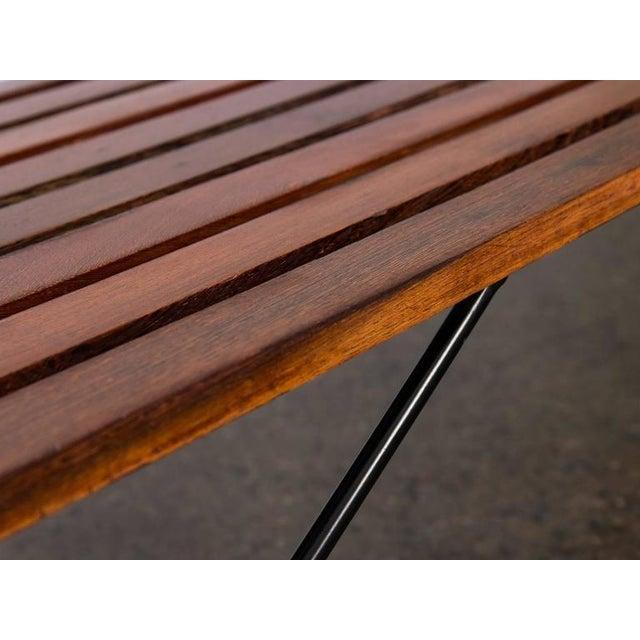 Modern Slat Bench - Image 6 of 7