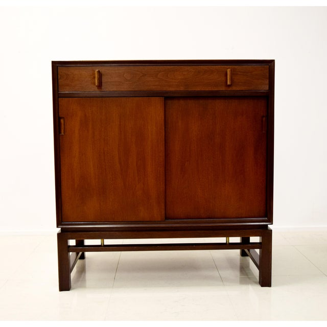 Edward Wormley for Dunbar Mahogany Cabinet - Image 3 of 9