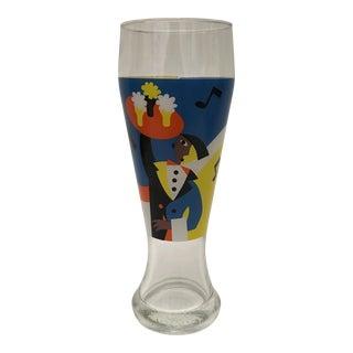 Memphis Style Art Weizen Beer Glass