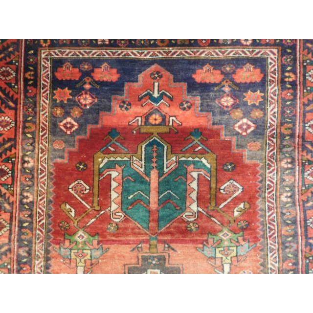 Antique Persian Karaja Runner - 3′7″ × 14′ - Image 3 of 10