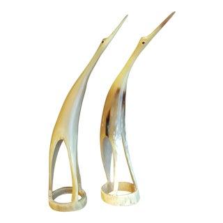 Sculptural Mid-Century Style Birds - A Pair