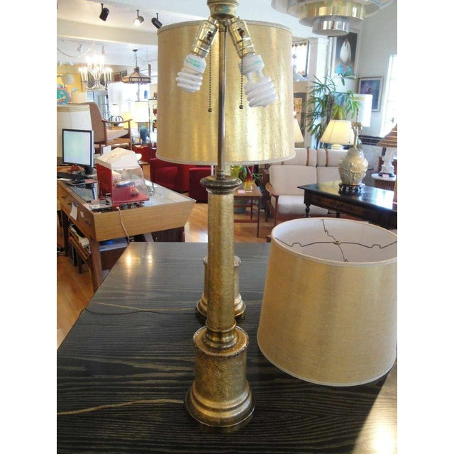 Image of Paul Hanson Hollywood Regency Lamps - A Pair