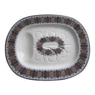 English Porcelain Meat Tray