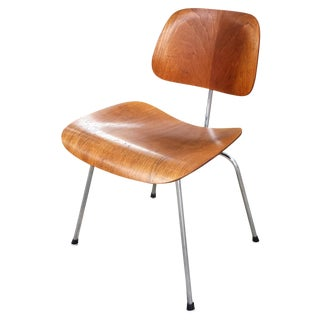 Mid-Century Eames Dcm Ply Chair by Herman Miller