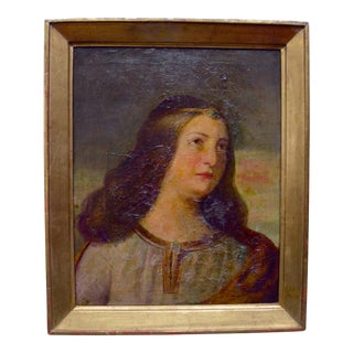 Italian Framed Portrait of a Lady
