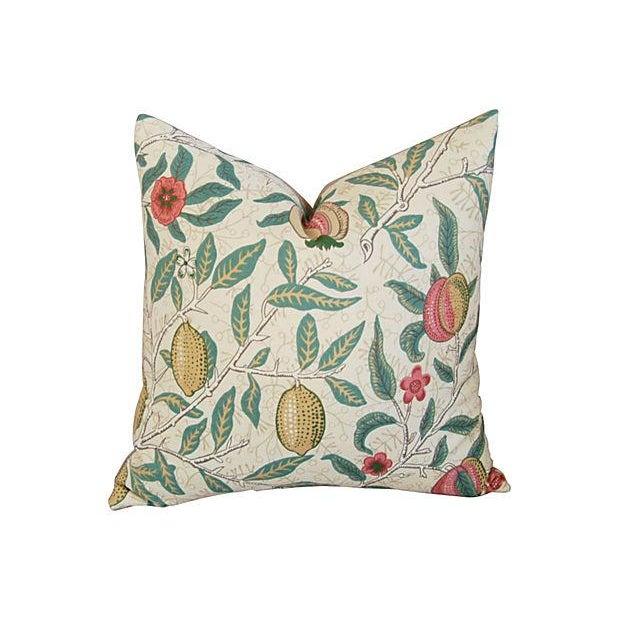 William Morris & Co Fruit Pillows - Pair - Image 2 of 7