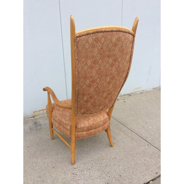 Edward Wormley High Back Lounge Chair - Image 5 of 8