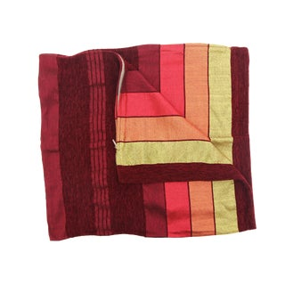 Moroccan Red Sabra Pillowcases - A Pair