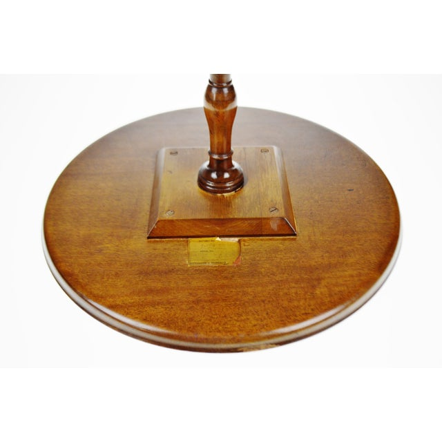 Vintage Kittinger Furniture Candle Stand Side Table - Image 9 of 11 - Vintage Kittinger Furniture Candle Stand Side Table Chairish