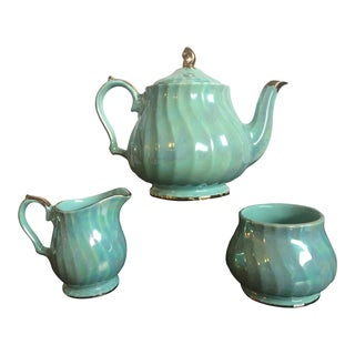 Sadler English Art Deco Tea Set