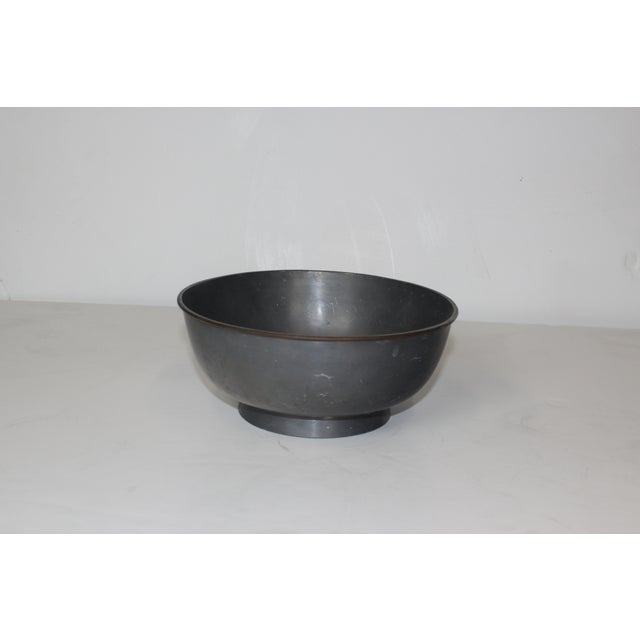 1950s Pewter Bowl - Image 4 of 5