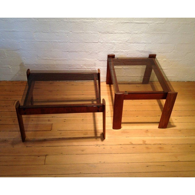 Percival Lafer Side Tables - A Pair - Image 3 of 4