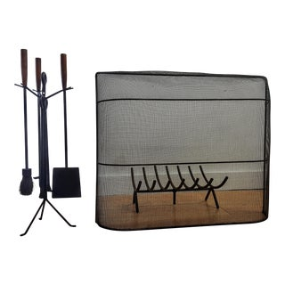 George Nelson Fireplace Tool Set