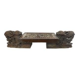 Vintage Asian Ceremonial Pedestal
