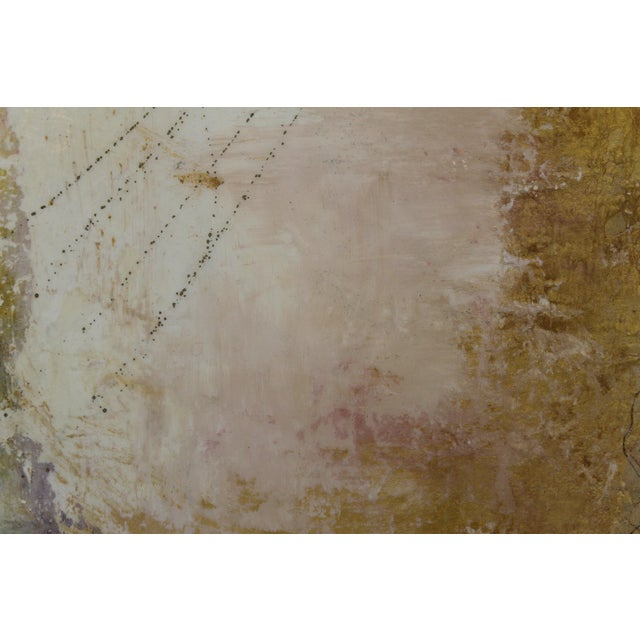 Mixed Media 'Golden Skies' Painting - Image 3 of 5