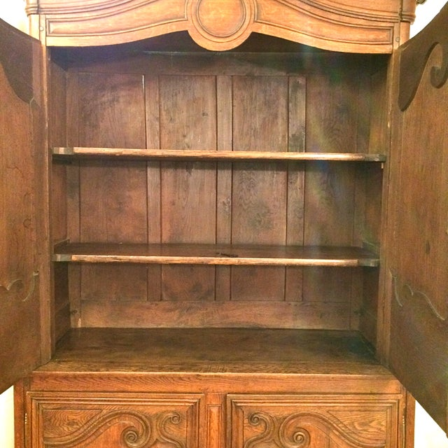 French Provincial Antique Buffet - Image 4 of 8