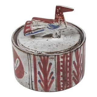 Ceramic Lidded Pot by Jean Derval