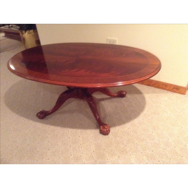 Ethan Allen Hawthorne Coffee Table: Ethan Allen Mahogany Coffee Table