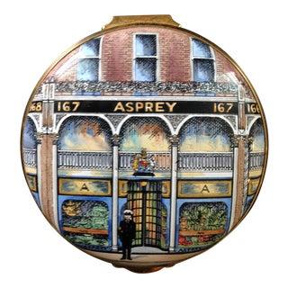 Stratforshire Enamels Asprey Hand-Painted Pillbox