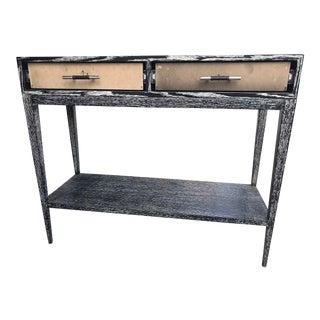 Turino Rustic Wood Console