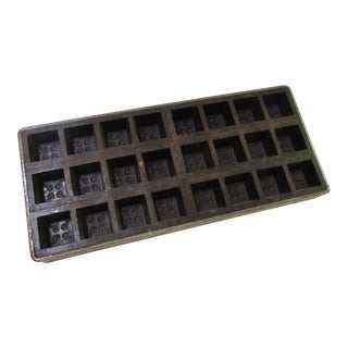 Antique Industrial Chocolate Candy Mold